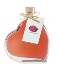Rhabarber Likör in Herzflasche (Gourmet Berner) - Feinkost-Pohl