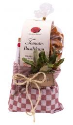 "Sommer-Geschenk Präsent-Geschirrtuch ""Pasta Basta"" - PGT-20 (Gourmet Berner) - Feinkost-Pohl"