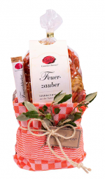 "Sommer-Geschenk Präsent-Geschirrtuch ""Feurige Pasta"" - PGT-21 (Gourmet Berner) - Feinkost-Pohl"