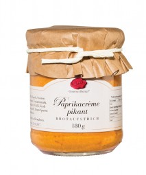 Paprikacrème pikant (Gourmet Berner) - Feinkost Pohl