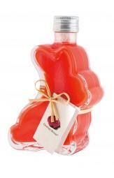 Eierlikör mit Erdbeere in Hasenflasche (Gourmet Berner) - Feinkost-Pohl