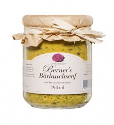 Berner's Bärlauchsenf (Gourmet Berner)
