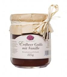 Erdbeer-Gsälz mit Vanille (Gourmet Berner)