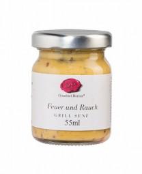 Feuer und Rauch - Grill-Senf (Gourmet Berner) - Feinkost-Pohl