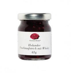 Holunder Fruchtaufstrich mit Whisky - Liliput (Gourmet Berner) - Feinkost-Pohl