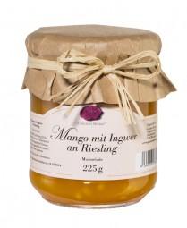 Mango mit Ingwer an Riesling (Gourmet Berner)