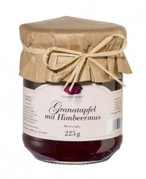 Granatapfel mit Himbeermus (Gourmet Berner)